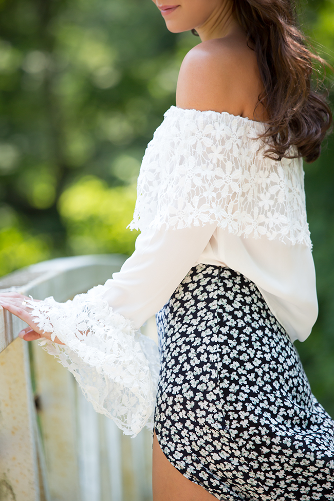 Nasty Gal Crochet And Lace